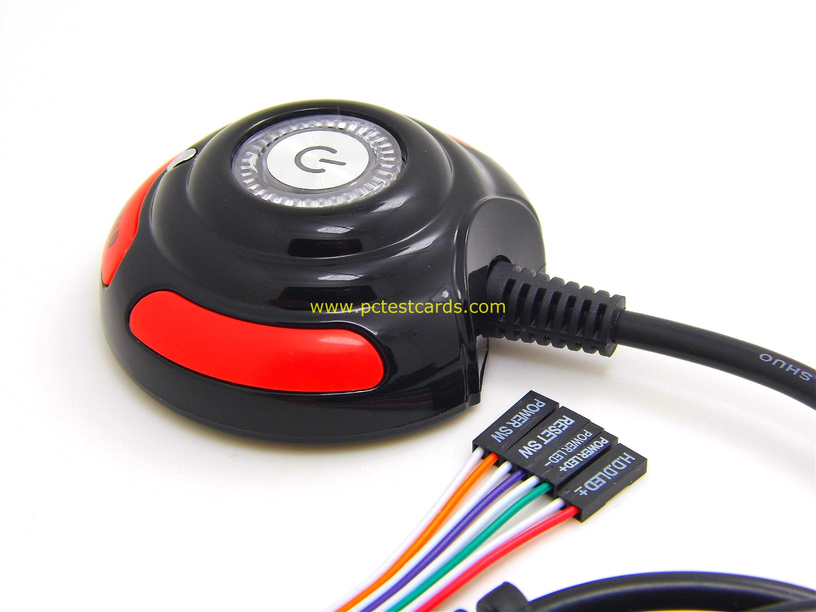New PC Motherboard Power Reset Switch LED Cable with