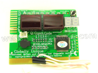 New 6 Digit PC Computer Motherboard Diagnostic Analyzer POST Debug Test Card STC-SP