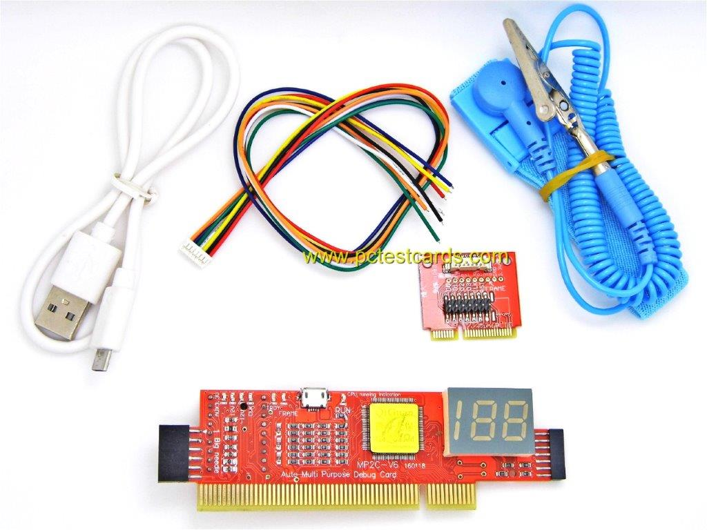 New PC and Laptop Motherboard Diagnostic Test Cards Kit (STC-SP+LMC6)
