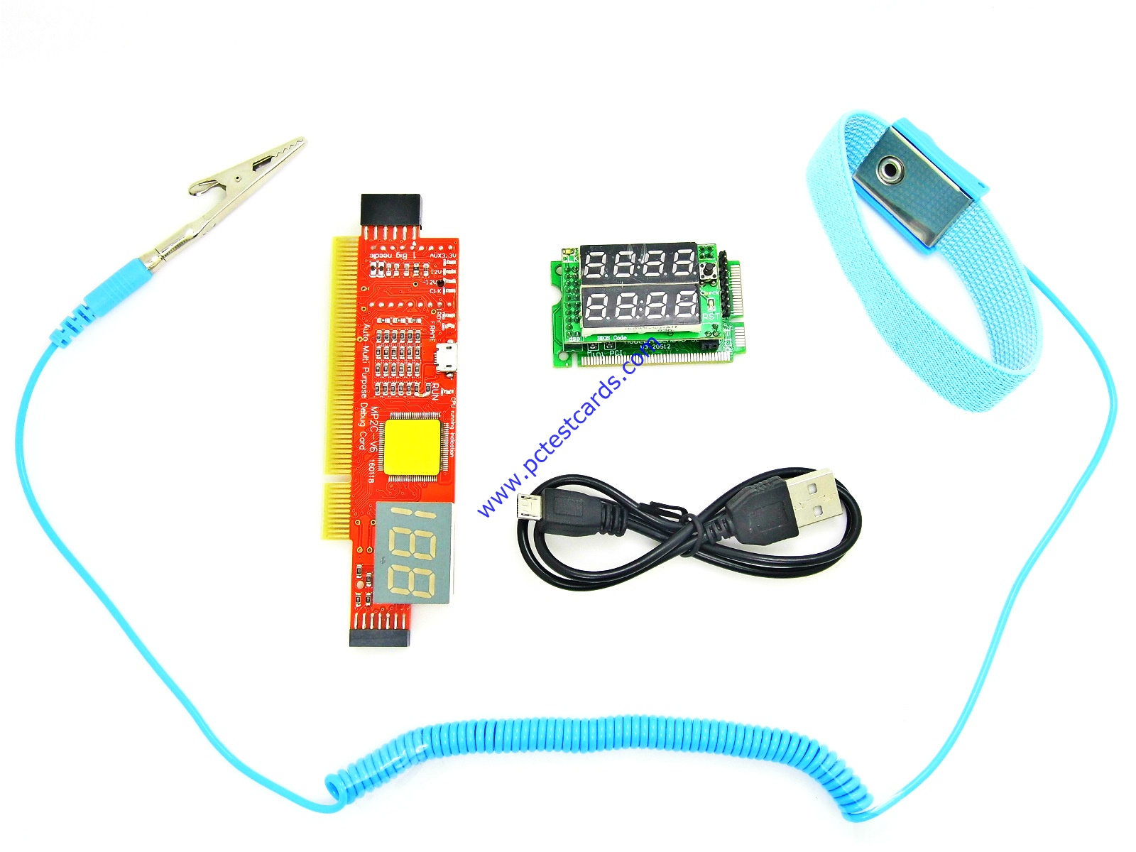 New PC and Laptop Motherboard Diagnostic Test Cards Kit (STC-SP+LMC8)